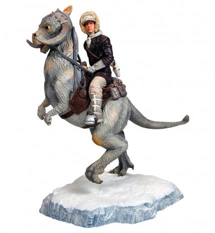 Estatua Han Solo en Tauntaun, 33 cms. Star Wars. Sideshow Collectibles