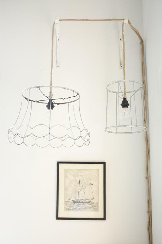 DIY Pendant Lamps #diy #crafts