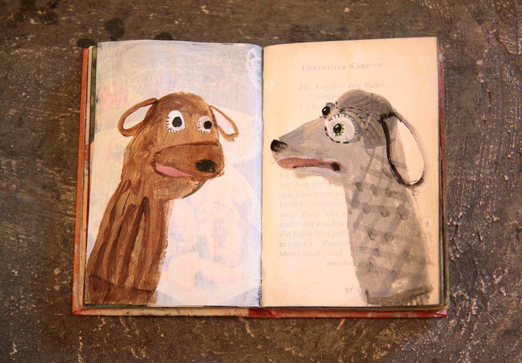 sock doggies by Sabine Timm