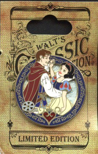 791947997 Disney Pins - Walt's Classic Collection -Limited Edition - Snow White and  the Seven Dwarfs