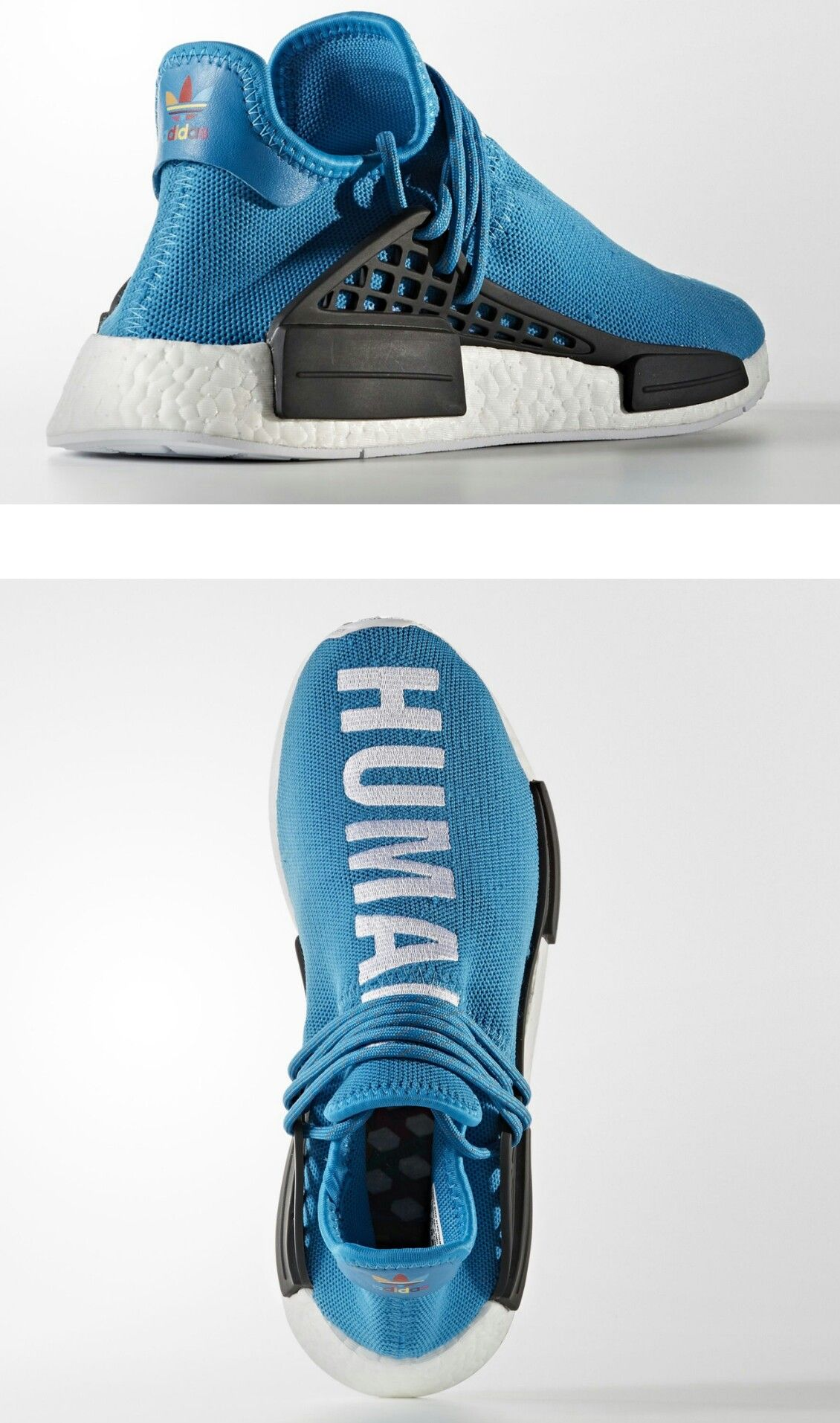 661e8d375 Pharrell x adidas NMDs. Each shoe in the pack will be slightly different