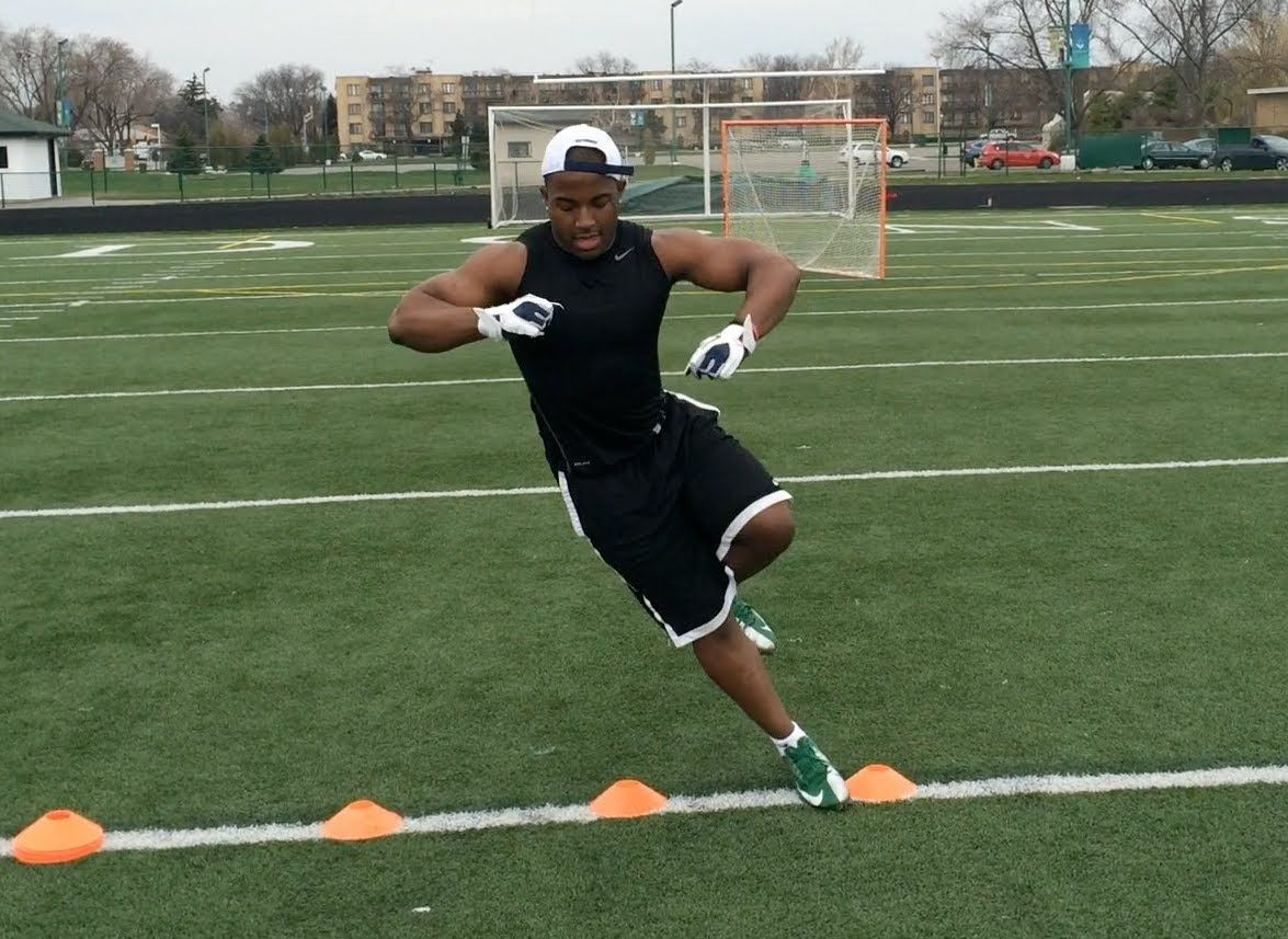 football agility drills with cones