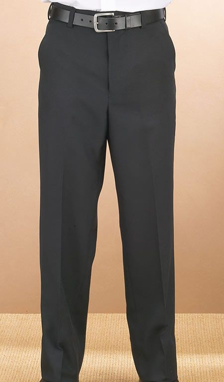 Mens Plain Black Dress Pants Tuxedos Tuxedo Tuxedo Pants Black