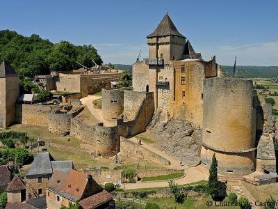 Vue d ensemble château de castelnaud