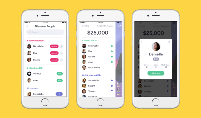 HQ Trivia finally gets social with 'Friends on HQ' update | IBM