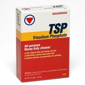 TSP All Purpose Heavy Duty Cleaner. Wipe down walls with a TSP ...