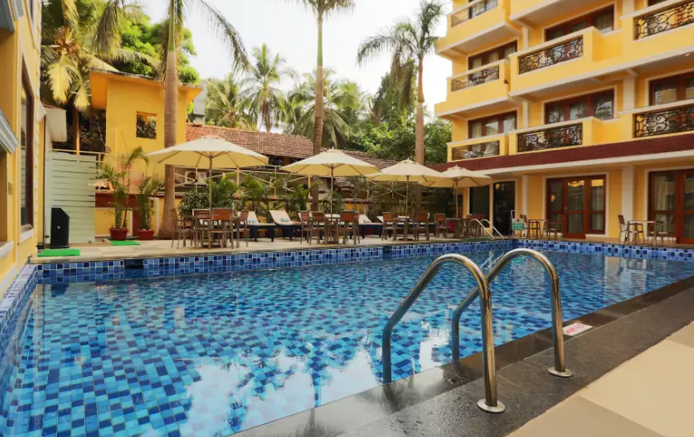 Let S Explore The Calangute Beach Resorts Goa Beach Resorts Beach Cottages Resort