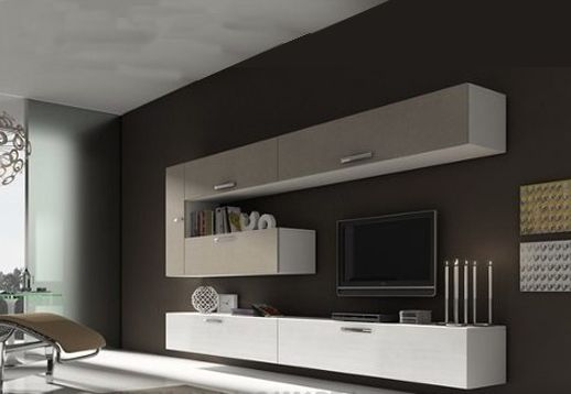 Rack modular lcd los angeles muebles living pinterest for Racks y modulares para living