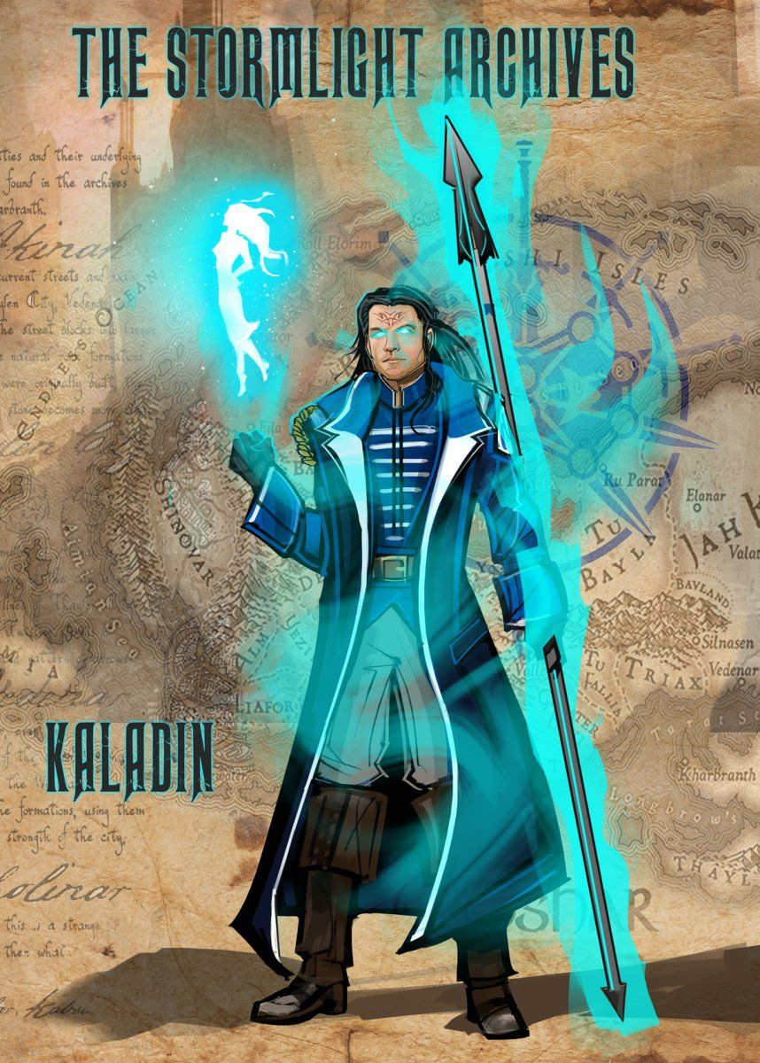 Image result for kaladin and syl