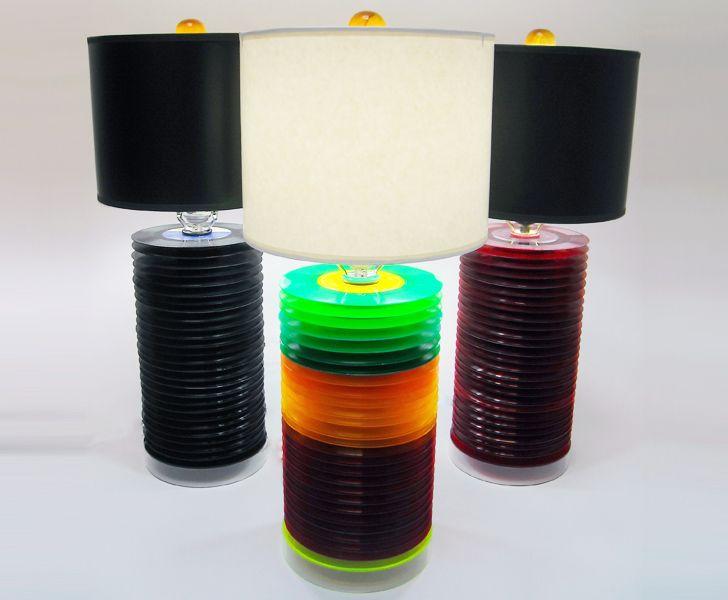 recycling vinyl lamp i pinterest schallplatten lampenschirm basteln und lampen. Black Bedroom Furniture Sets. Home Design Ideas