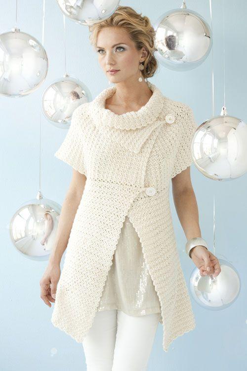 Capelet Swing Cardi | crochet today | crochet/knit | Pinterest ...