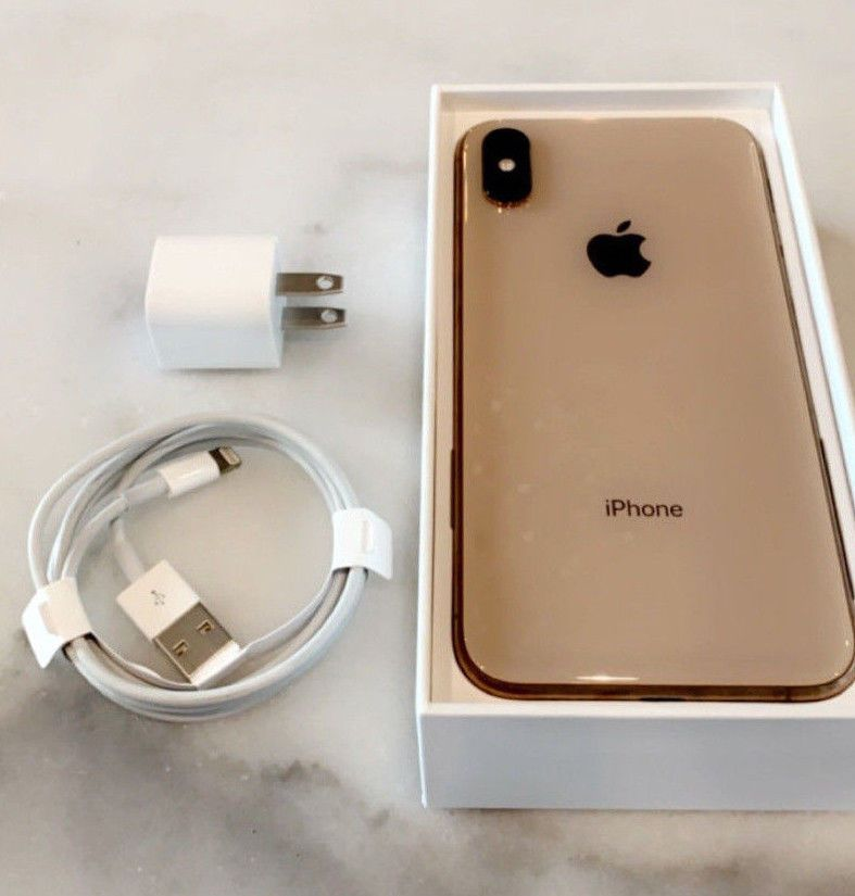Apple iphone xs 64gb gold sprint a1920 iphone xs