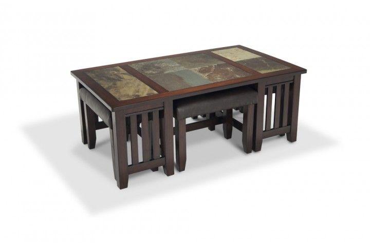 Adirondack Coffee Table Set Bob S Discount Furniture Coffee