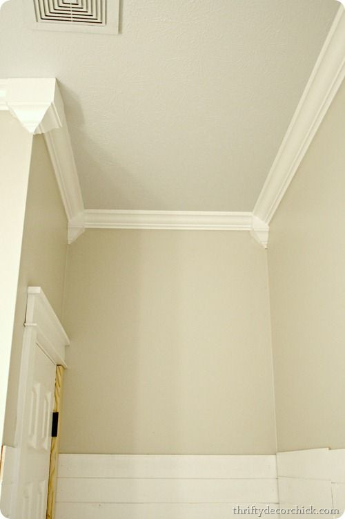 Cheater Crown Molding Diy Crown Molding Easy Crown Molding Crown Molding Vaulted Ceiling
