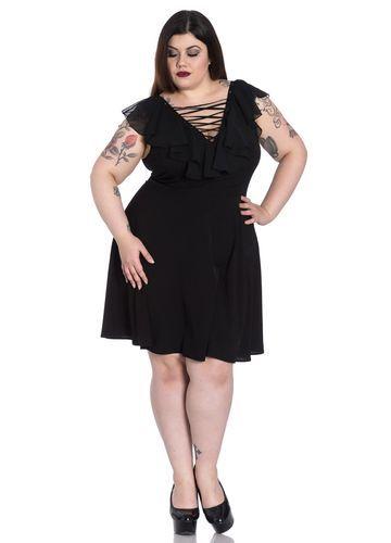 Hell Bunny Plus Size Onyx Dress Plus Size Shopping Pinterest