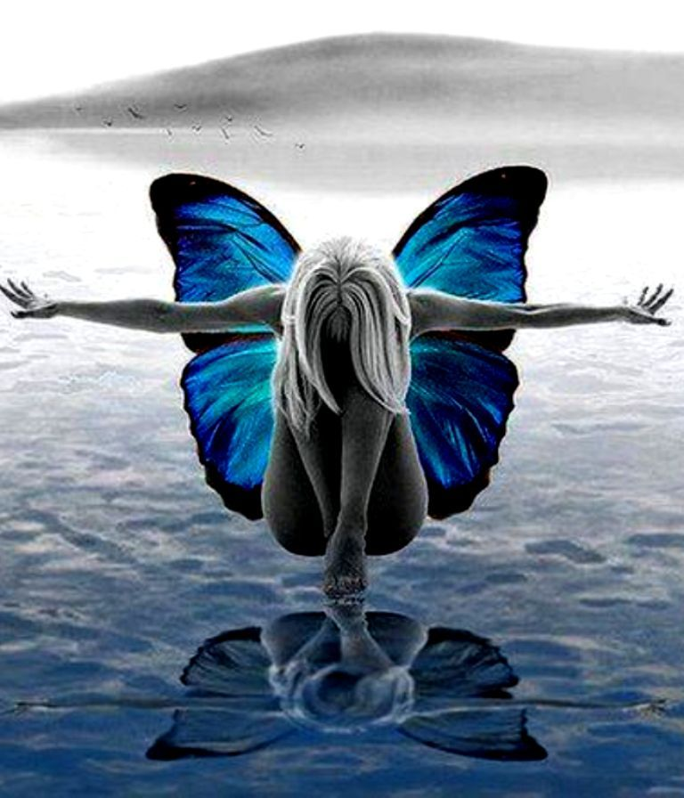 like a butterfly..I sail on air..wings alight..I've experienced a night..passionate flight..lover who set my soul free