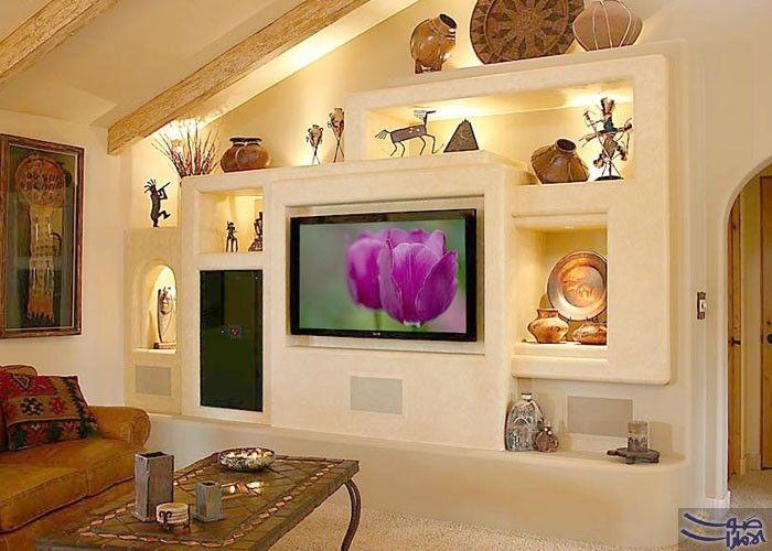 ديكورات جبس للتلفزيون إضافة عصرية لمنزلك | Shelves
