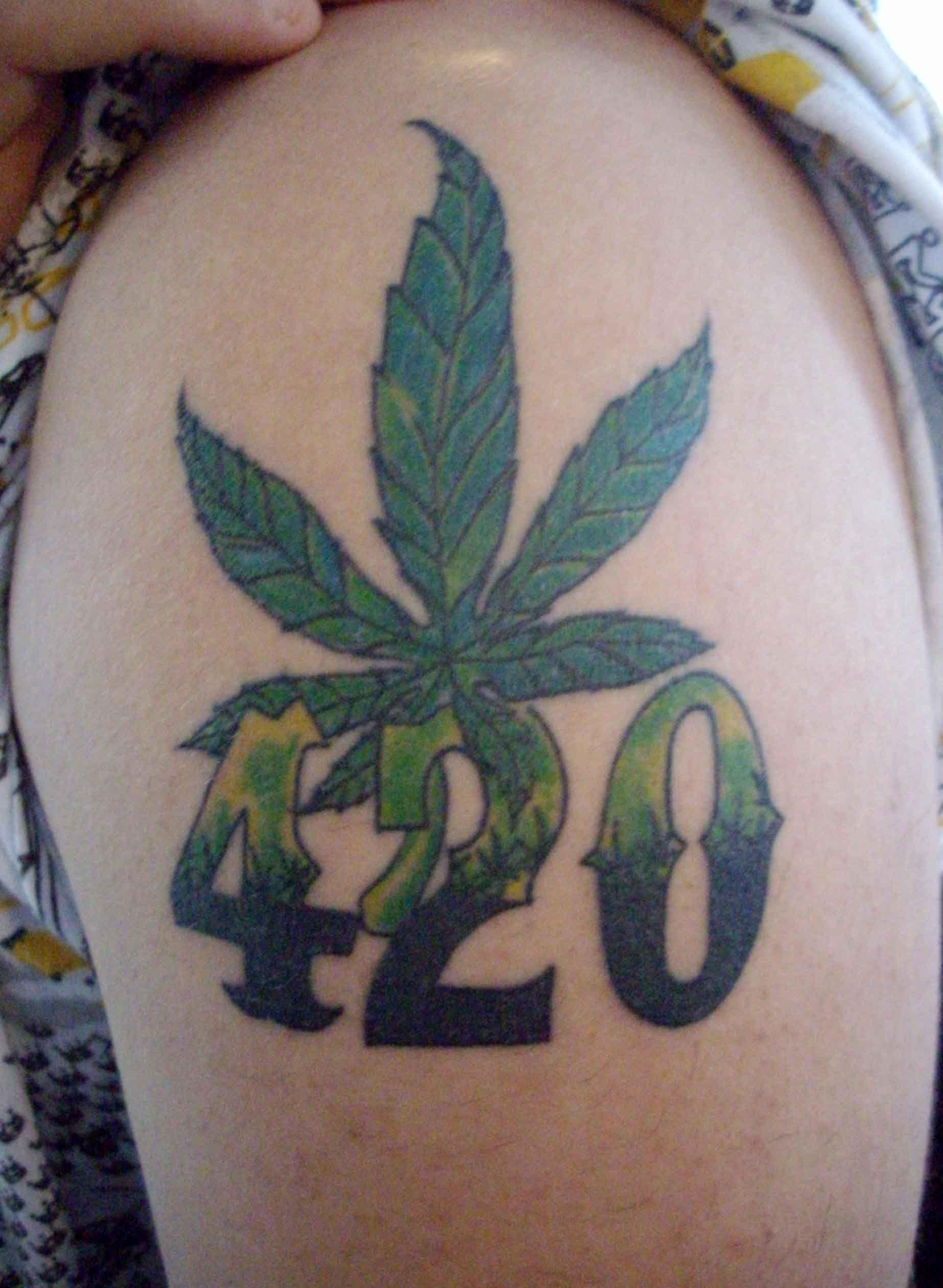 420 tattoo designs - 736×1004