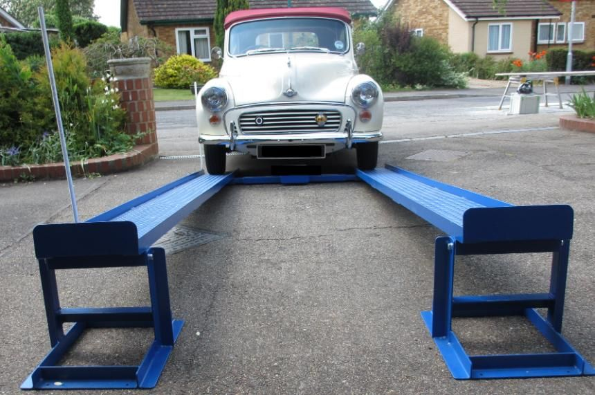 Car Lift Ramps The Simple Unique Patented Mr1s For Diy