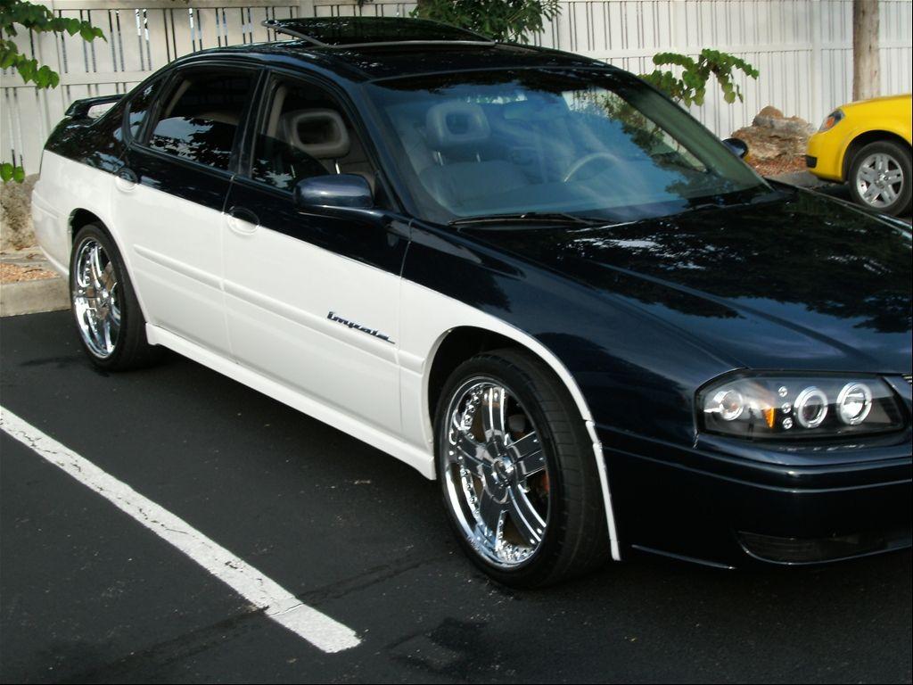 All Types 2004 impala ss indy edition : top black bottom white | Chevy Impala | Pinterest | Chevy impala ...