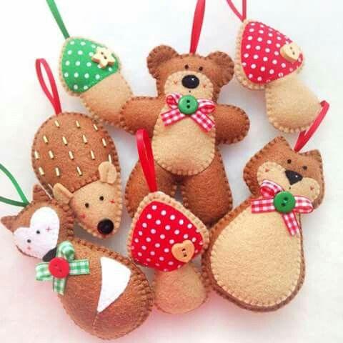 Pin de denise meyers en kerstmis Pinterest Fieltro, Navidad y Paños