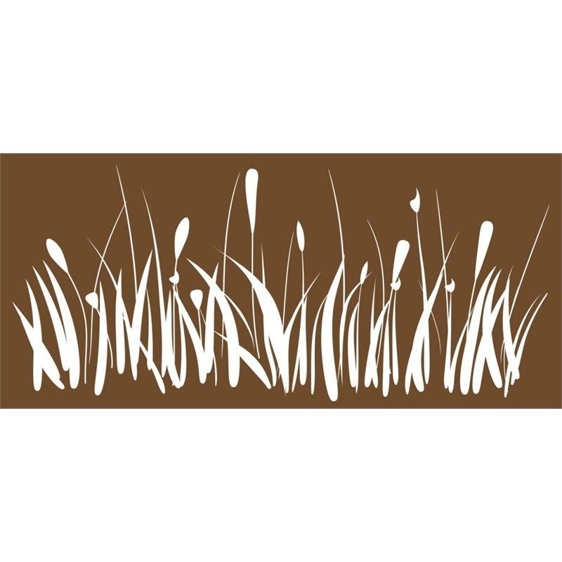 Find Northcote Pottery 110 X 50cm Newbury Folia Rust Panel Garden