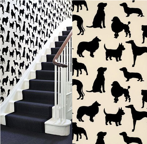 Best In Show Wallpaper By Osborne Little Dog Decor Dog Rooms Wall Wallpaper
