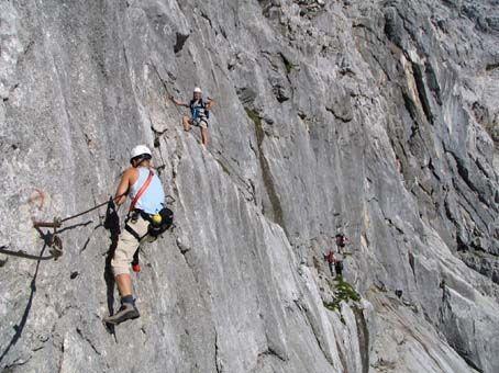 Klettersteig Himmelsleiter : Klettern klettersteige via ferrata bouldern klettertouren im