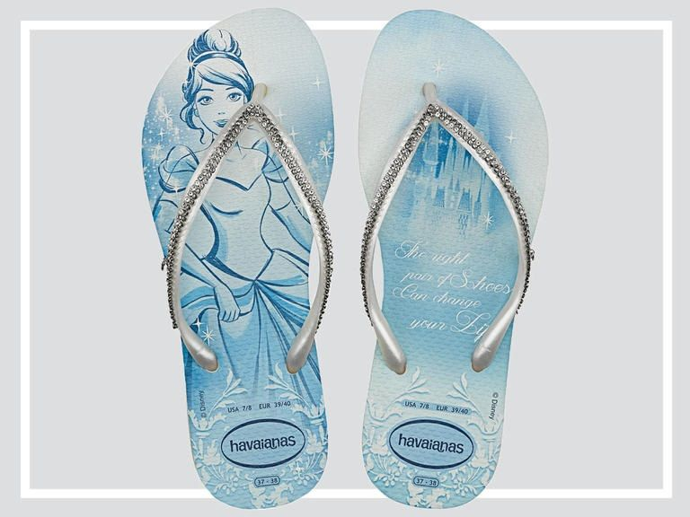 various colors factory outlets best place This Disney Princess and Havaianas Bridal Flip-Flop Collection Is ...