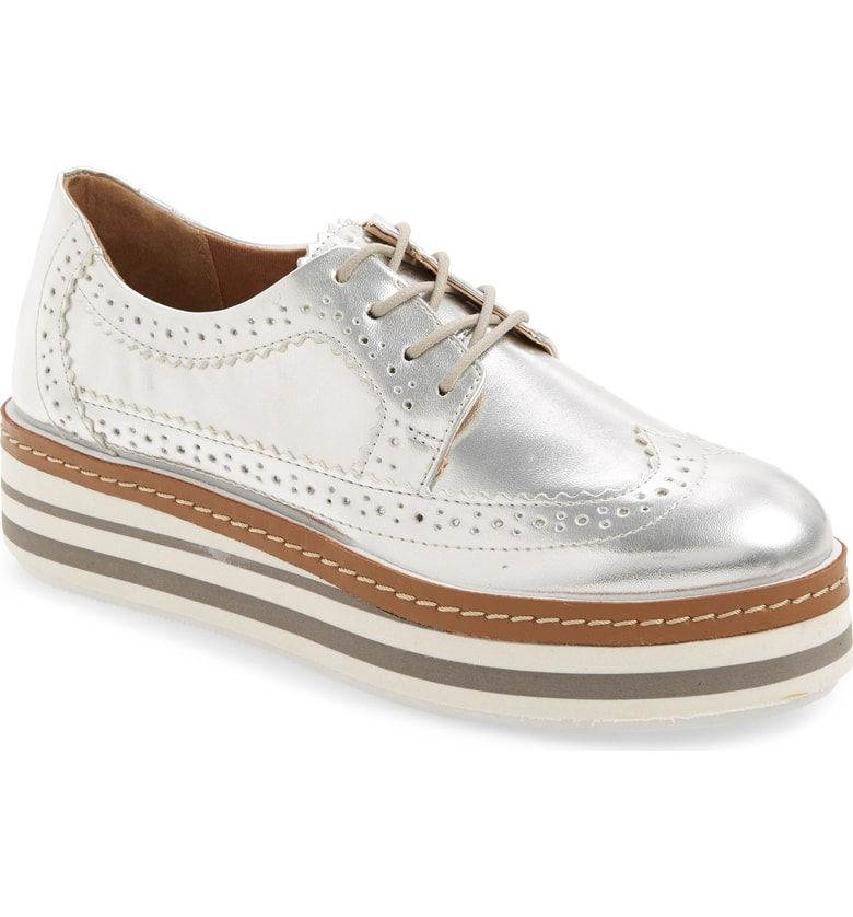 2aae260d943 Free shipping and returns on Steve Madden Mira Platform Derby (Women) at  Nordstrom.com. A platform sole adds an extra kick of retro style to a lace- up derby ...