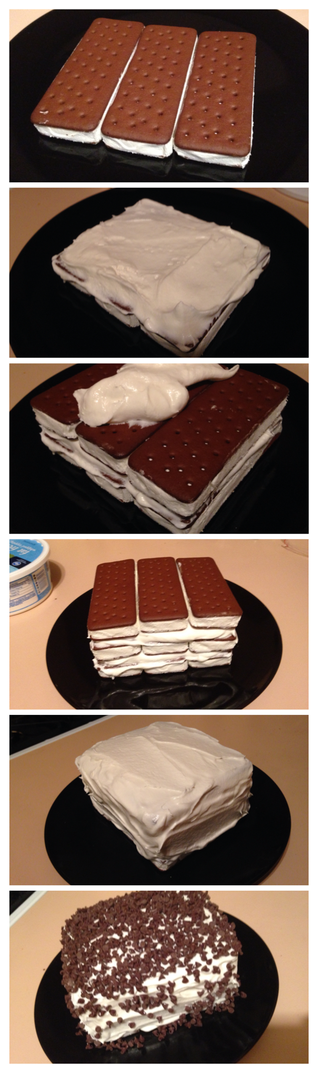 Ice Cream Sandwich Cake: