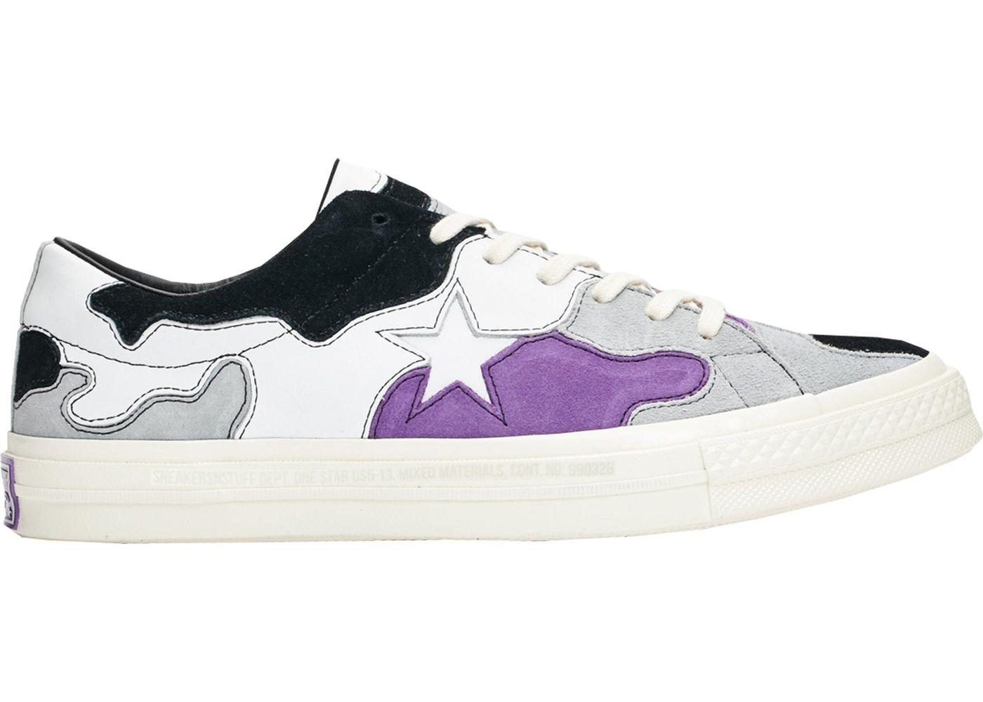Converse One Star SNS Camo (Purple)  b210543af