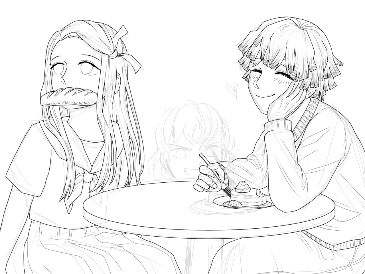 ZENNEZU IS CANON — Let me bring your attention to my only