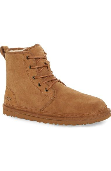 7e91d48c25f UGG Harkley Lace-Up Boot (Men). #ugg #shoes #flats | Ugg Men | Uggs ...