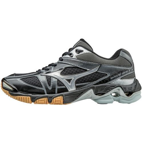 MIZUNO WAVE BOLT 5 WOMENS INDOOR VOLLEYBALL Shoes Sz W10 Black/Silver