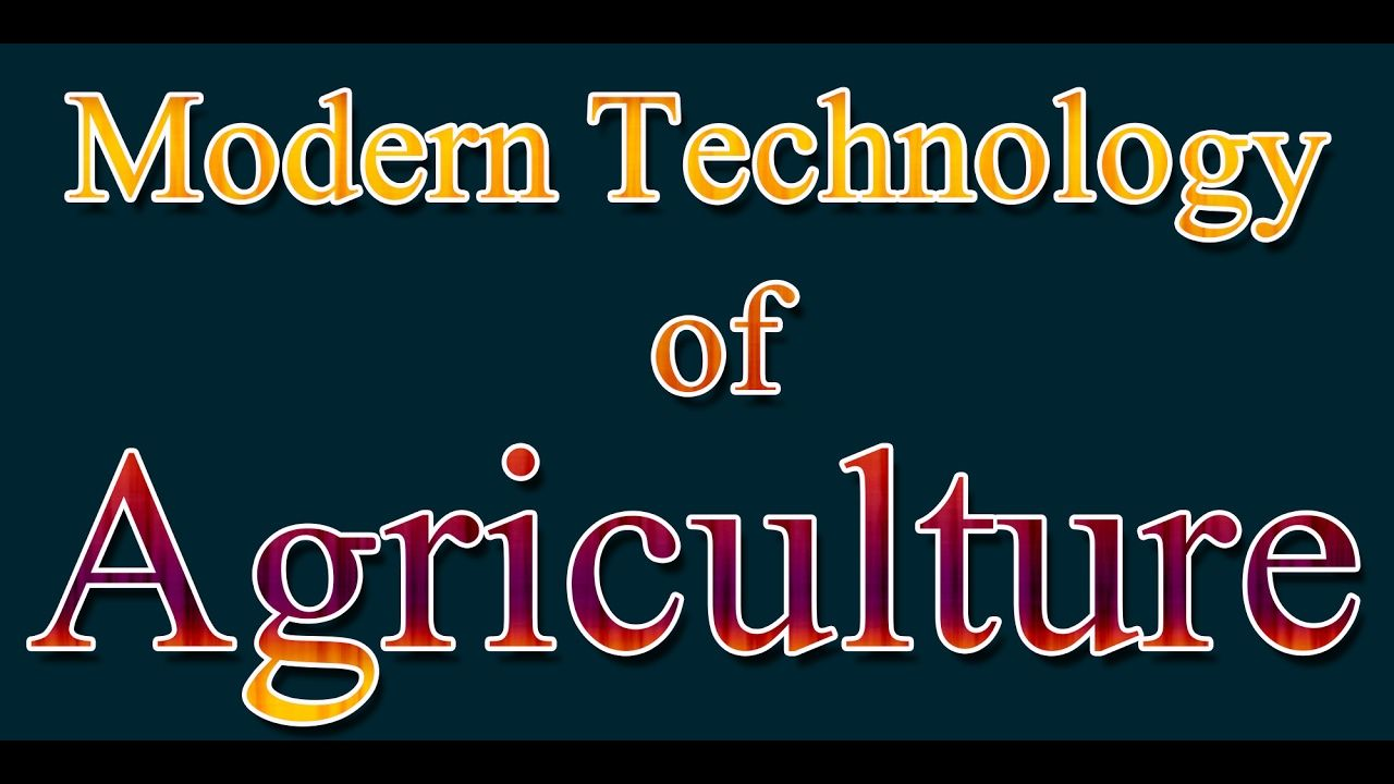 Latest Modern Technology Agricuture Huge Machines