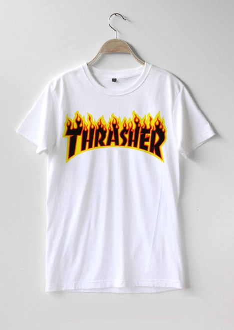 4e79284bc Thrasher logo T-shirt Men Women and Youth in 2019 | T-shirt | Shirts ...
