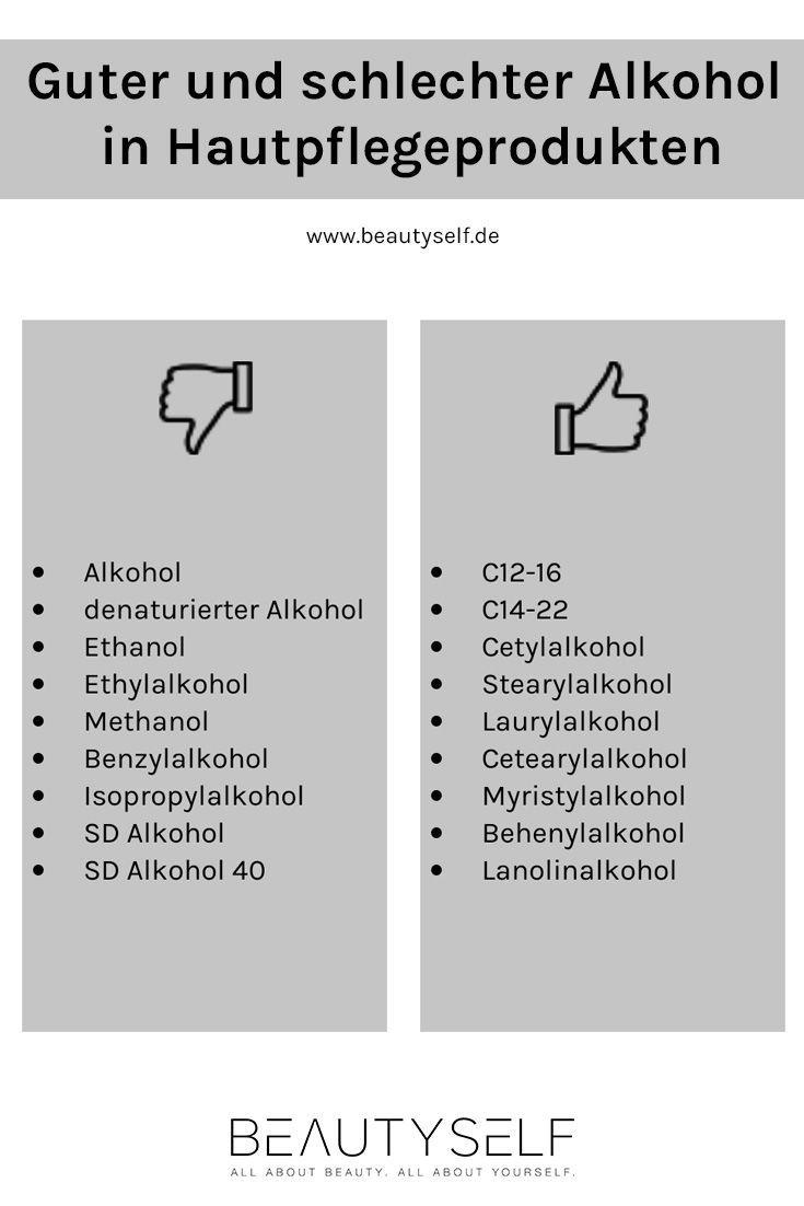 Photo of Gute und schlechte Alkohole in Kosmetika – Hautpflege – Beautyself