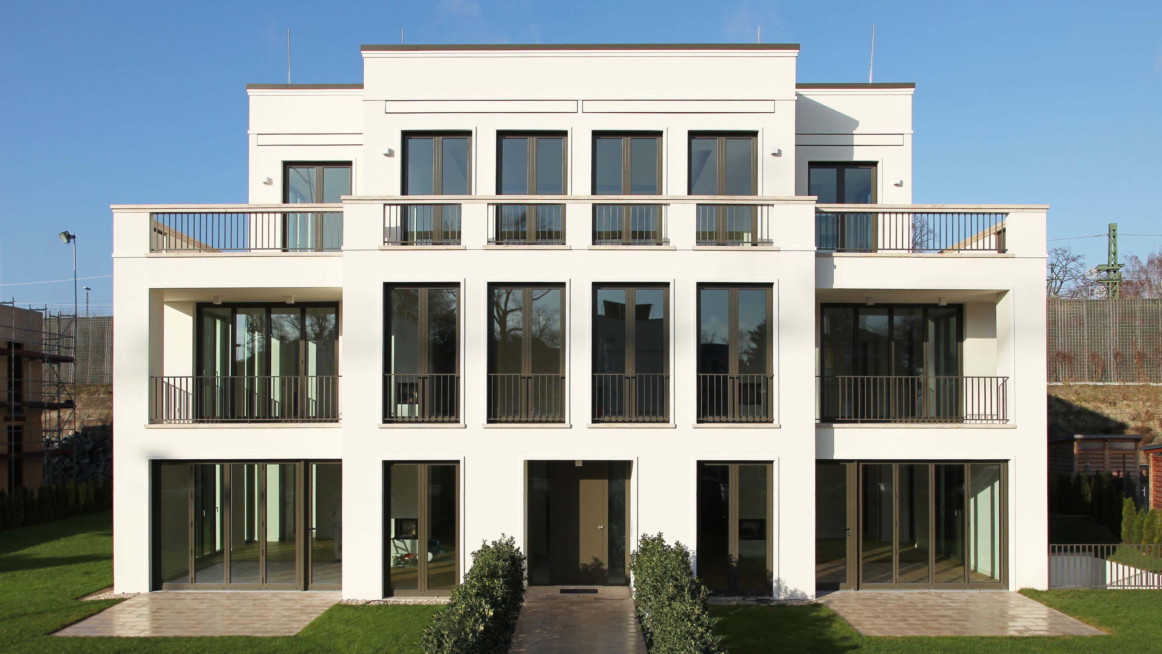 Villa rosensteinweg shsp architekten main fa ade for Architecture facade villa
