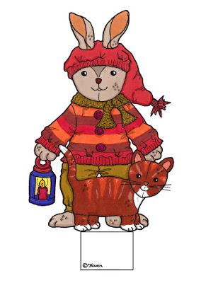 Karens Kravlenisser. Christmas Cutouts.: Christmas Bear ...