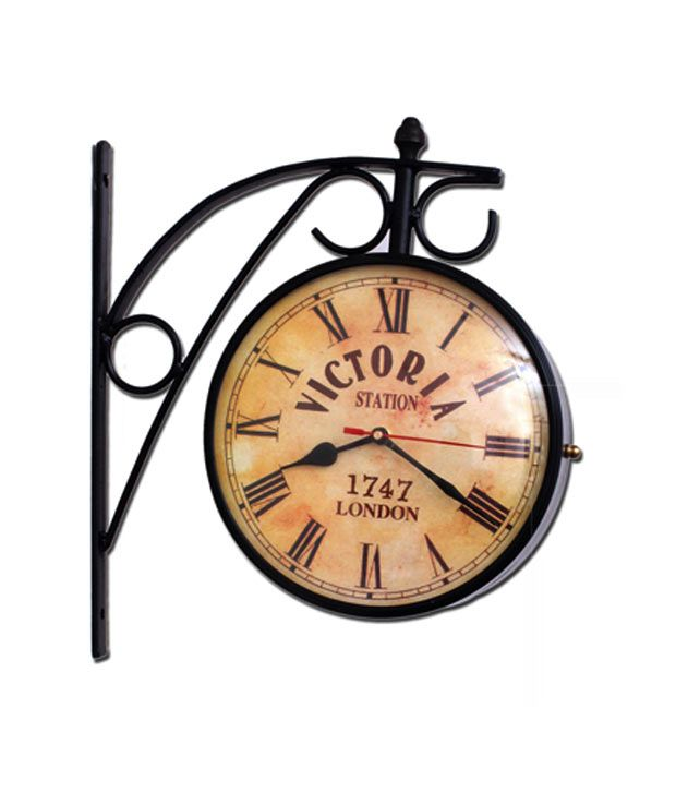 Home Sparkle Victoria Station Wall Clock Http Www