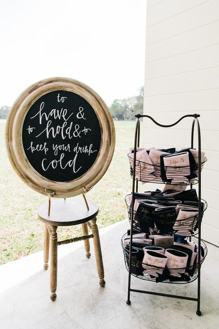 Rustic, Elegant Blush Pink Tampa Bay Barn Wedding | Country wedding ...