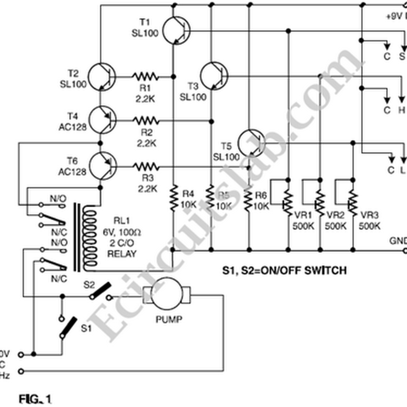 Nonstop-Free Electronic Circuits Project Diagram and Schematics ...