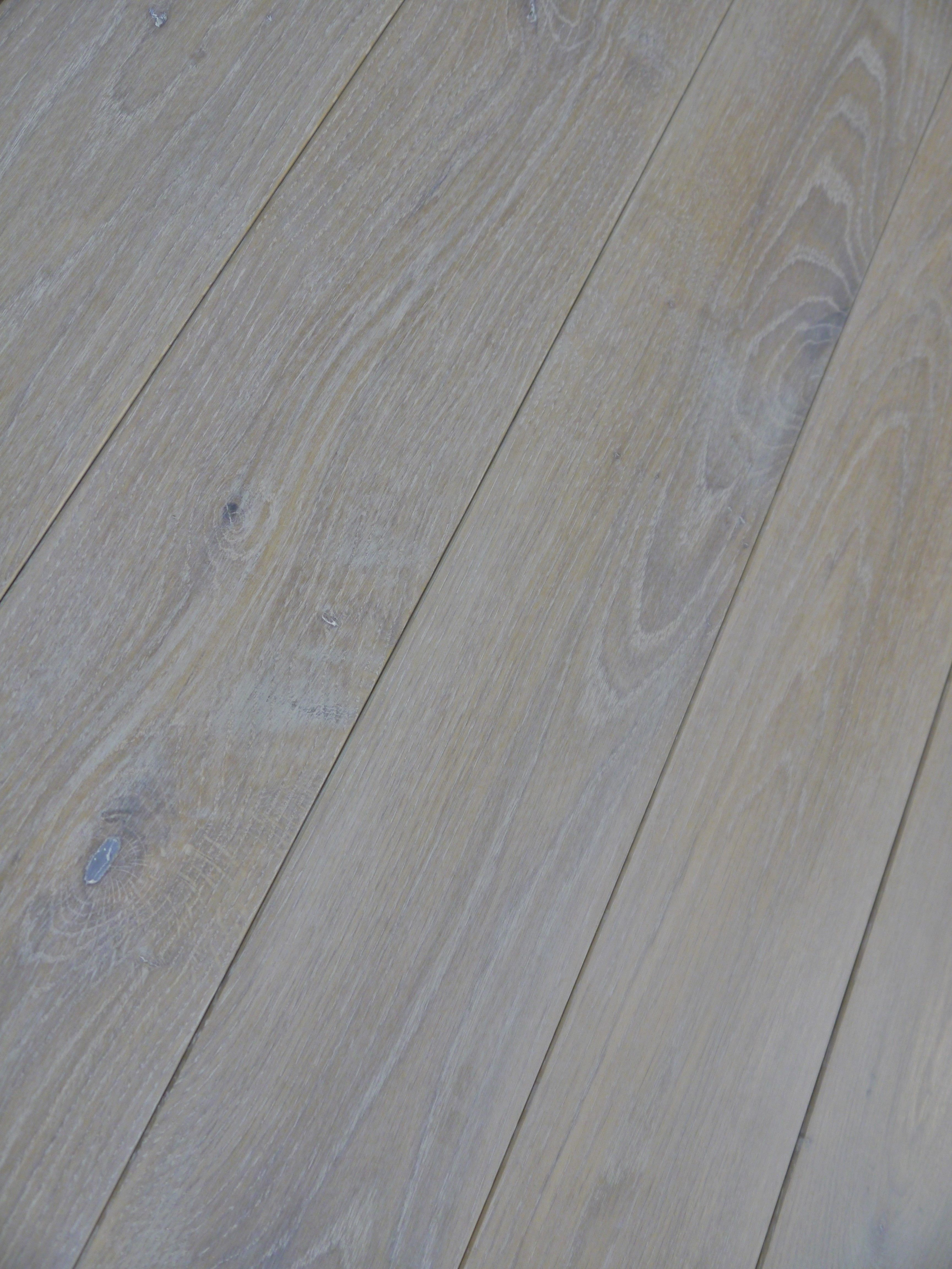 classic wide plank white oak flooring with a super