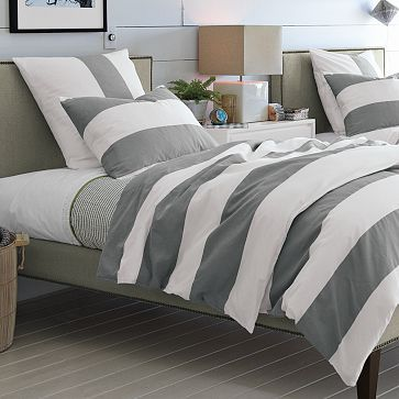 sweetgalas duvet striped covers the amazing pottery queen intended stripe plan household for logan cover stylish barn inside sham