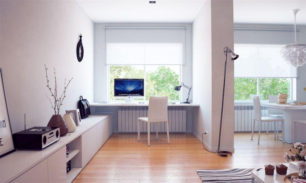kleinen Raum, Rezeption Ideen moderne home office Möbel ...