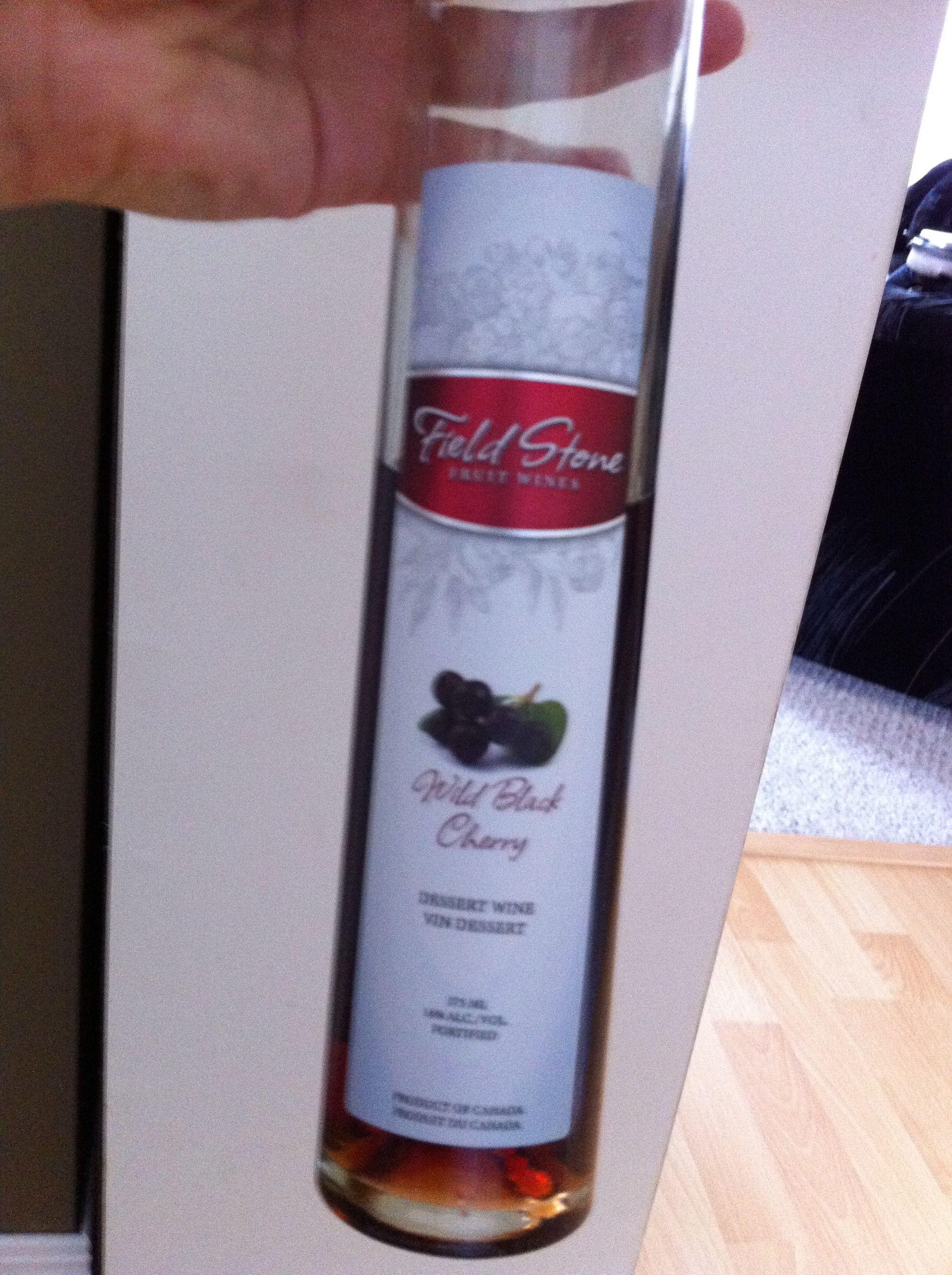 Field Stone - Wild Black Cherry Dessert Wine