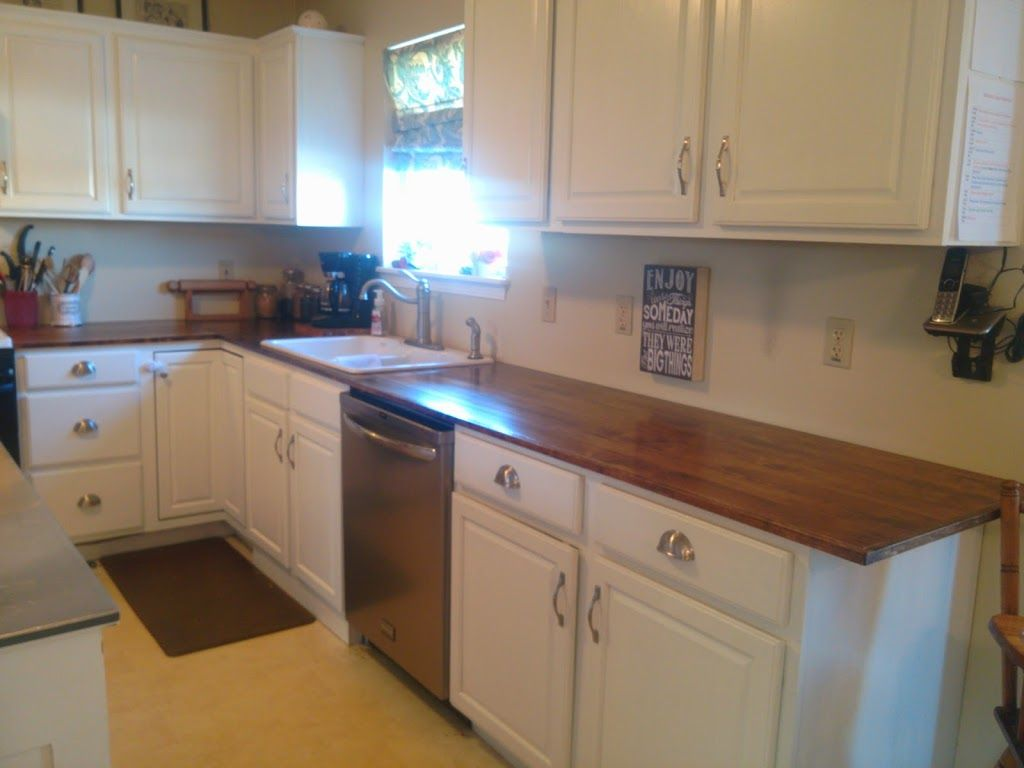 On Bliss Street | DIY Wood Countertops for under $200! Part 3 ~ On ...