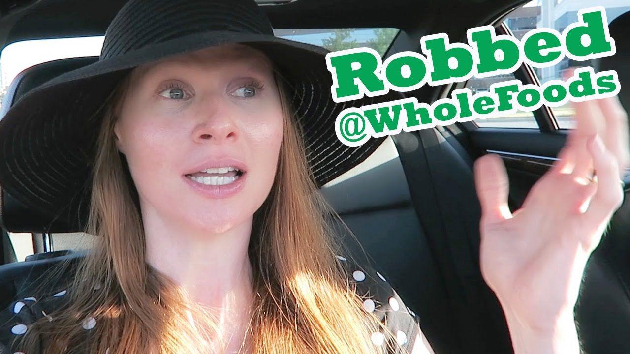 Live Robbed At #WholeFoods on #CookingNakedTV @YouTube - https://youtu.be/WTzndVKL7ug  #glutenfree #healthyliving