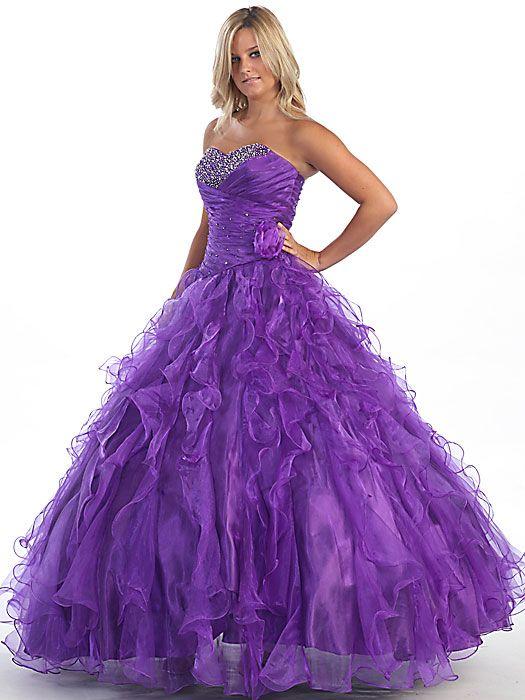 Ball Gown Terani style   Ballkleid, Königsblaues kleid und ...